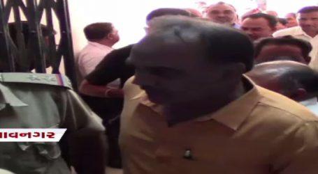 વાઘાણીઅે ખેલ પાડ્યો : ભાવનગર જિલ્લા પંચાયત અેક મતે ભાજપે અાંચકી, કોંગ્રેસમાં બળવો