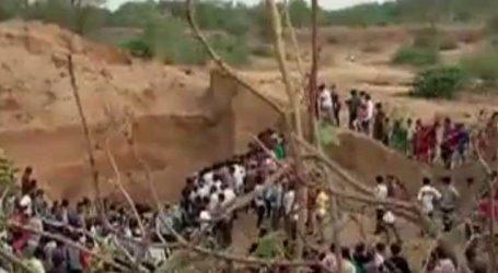 વડોદરાના દીપપુરા ગામે રેતી કાઢતા સમયે ભેખડ ધસી પડતા 4 લોકોના મોત