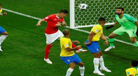 ફુટબોલ વર્લ્ડ કપ : બ્રાઝિલ સ્વિત્ઝર્લેન્ડ વચ્ચે જામી રસ્સાકસ્સીની મેચ