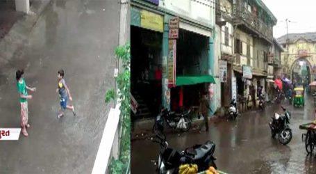 સુરતમાં કેટલાંક વિસ્તારમાં મેઘરાજાની એન્ટ્રી : ગારીયાધારમાં વરસાદથી લોકોને રાહત