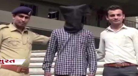 સુરત: સગીરાને ભગાડી જનાર યુવકને પોલીસે દબોચ્યો