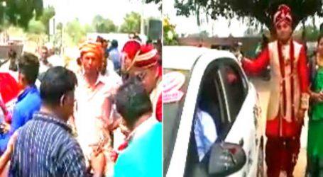 ગાંધીનગર : દલિત યુવકનો વરઘોડો અટકાવવાના મામલે 10 લોકો વિરુદ્ધ ફરિયાદ
