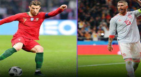 ફુટબોલ વર્લ્ડ કપમાં આજે સ્પેન અને પોર્ટુગલ વચ્ચે ગજાગ્રહ! ચાહકોની નજર રોનાલ્ડો પર