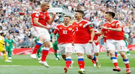 FIFA World Cup 2018 : રશિયાનો સાઉદી અરેબિયા સામે ૫-૦થી શાનદાર વિજય