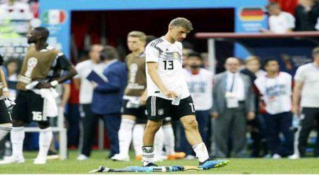 મેક્સિકો-જર્મનીના મેચમાં ઉલટફેર, 31 વર્ષ બાદ જર્મની વર્લ્ડ કપની પ્રથમ મેચમાં હાર્યું