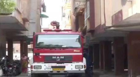 અમદાવાદ : સેટેલાઈટ વિસ્તારના ફ્લેટમાં આગ ભભૂકી ઉઠી, ફાયર ફાઈટરોએ આગ પર કાબુ મેળવ્યો