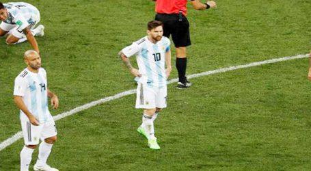 FIFA : ક્રૉએશિયાએ આર્જેન્ટિનાને 3-0થી રગદોળ્યું, વર્લ્ડકપમાંથી બહાર ફેંકાઇ શકે છે મૅસ્સીની ટીમ