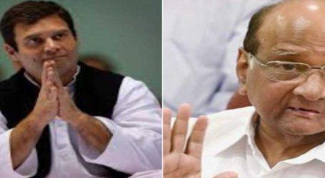 રાહુલ ગાંધી અને શરદ પવાર વચ્ચે બંધ બારણે બેઠક, વિપક્ષને મજબૂત કરવાની કવાયત