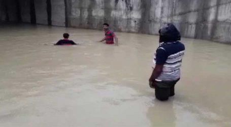 નસવાડીમાં ધોધમાર વરસાદ, નિચાણવાળી સોસાયટીમાં ઘૂંટણસમા પાણી ભરાયા