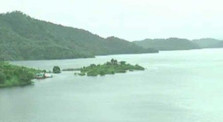 ઉપરવાસમાં પડેલા વરસાદના કારણે નર્મદા ડેમની જળ સપાટીમાં વધારો નોંધાયો