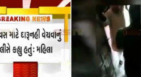 ગાંધીનગરઃ એસપી કચેરીથી 100 મીટરના અંતરે ઘરમાં દેશી દારૂ મળી આવ્યો Video