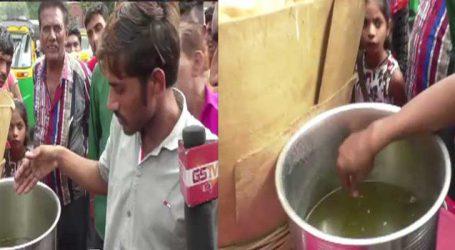 GSTVનો પાણીપુરીનો રિયાલિટી ચૅક: ભૈયાજી ટોયલેટ જઈને હાથ નથી ધોતા, પાણીમાંથી માખી કાઢી