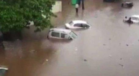 ઓડિસા :ભુવનેશ્વરમાં ભારે વરસાદના કારણે જનજીવન પ્રભાવિત, નીચાણ વાળા વિસ્તારો પાણીમાં ગરકાવ