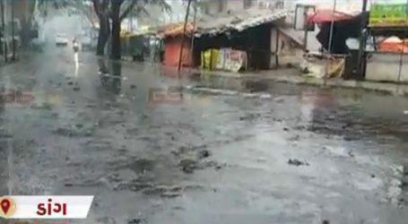 જુઓ ગુજરાતભરમાં ક્યાં ક્યાં વરસાદ – સુરત, વડોદરા, ડાંગમાં વરસાદ