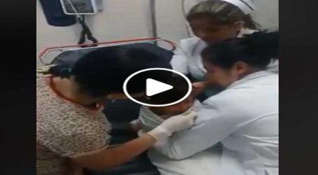 VIDEO: નાની બાળકી સિક્કો ગળી ગઈ, જુઓ પછી ડૉકટરે શું કર્યુ