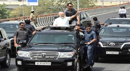 મોદી ગુજરાતમાં  : ગાંધીનગર અને કેવડિયામાં અાવી છે પોલીસની સુરક્ષા વ્યવસ્થા