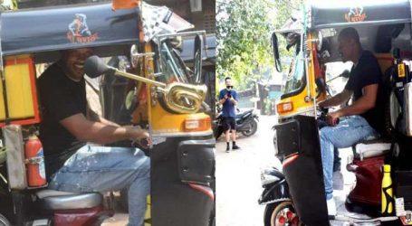 Video:મોંઘીદાટ ગાડીઓ છોડી મુંબઇની સડકો પર રિક્ષા ચલાવતો નજરે પડ્યો આ હૉલીવુડ સ્ટાર