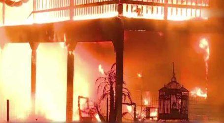 કેલિફોર્નિયાના જંગલોમાં ભિષણ આગ, 100થી વધુ લાપતા, બચાવ કાર્ય ચાલુ