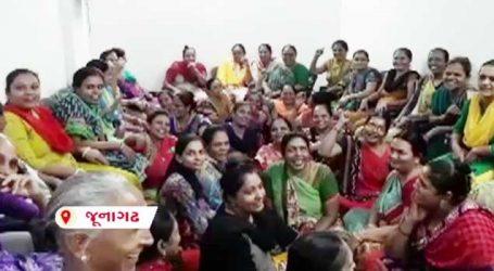 જૂનાગઢ: શિયાળાની શરૂઆતમાં જ પાણી માટે કકળાટ, મહિલાઓએ કર્યુ હલ્લાબોલ