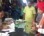 બાવળિયાએ શુભ મુહૂર્તમાં ભર્યું ફોર્મ, મોદી સરકારના 2 કેન્દ્રિય મંત્રીઓ રહ્યાં હાજર