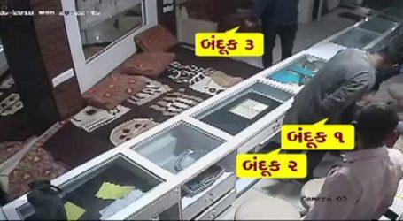 VIDEO: જ્વેલર્સની દુકાનમાં અચાનક ફાયરિંગ, માલિકને પછી સમજાયું કે શું થયું
