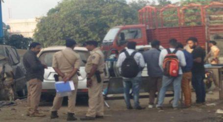 બલીઠામાં પોલીસ પર લૂંટના આરોપીનું ફાયરિંગ : 2 ઇજાગ્રસ્ત, પોલીસ કાફલો ખડકાયો