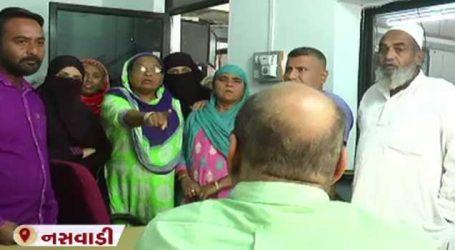નસવાડી મેમણ કોલોનીની મહિલાઓ MGVCLની કચેરી ખાતે હલ્લાબોલ, જાણો કારણ