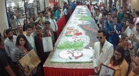 નાતાલાની પૂર્વ સંધ્યાએ ભારતની સૌથી મોટી ક્રિસમસ કેક અમદાવાદમાં બની, આ હતી વિશેષતા
