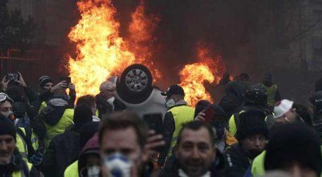 ફ્રાંસમાં ભારેલો અગ્નિ : 1 હજાર 700 પ્રદર્શનકારીઓની ધરપકડ અને 90 હજાર પોલીસનો ખડકલો