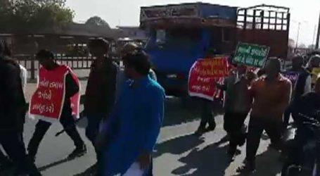 મધ્ય ગુજરાતના ખેડૂતોએ કાઢી આક્રોશયાત્રા, સરકાર સામે કરી આ માગણીઓ