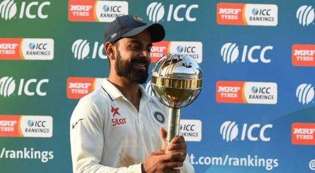 ICC ટેસ્ટ રેન્કિંગ: ભારતીય ટીમ અને કેપ્ટન કોહલીનુ સ્થાન સર્વોચ્ચ સ્તરે યથાવત