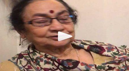 The Accidental Prime Minister અનુપમ ખેરની માતાએ મનમોહન સિંહને કહી દીધું 'બીચારા': Video