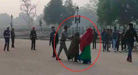 ઈન્ડિયા ગેટ પર મહિલાએ પાકિસ્તાન ઝિંદાબાદના નારા લગાવ્યા, પોલીસે કરી ધરપકડ