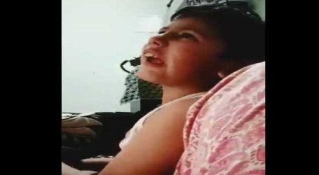 VIDEO:  ગુસ્સામાં એક બાળક બોલ્યું, પ્લીઝ મોદીજી એમને બચાવી લો હું બદલો લઇશ
