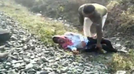 મધ્યપ્રદેશના હોશંગાબાદમાં ટ્રેનમાંથી યુવક ખાબક્યો અને સિપાહીએ દેખાદી માનવતા