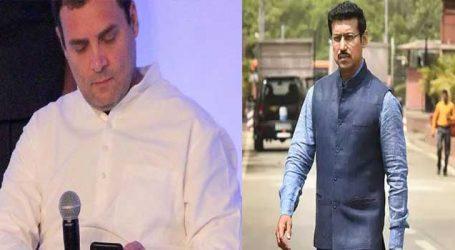 ભારતને શુટિંગમાં સિલ્વર અપાવનારે video બનાવીને કહ્યું રાહુલ ગાંધીજી સૈનિકો પૈસા માટે કામ નથી કરતા