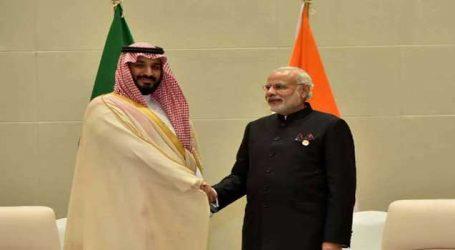 ભારત-સાઉદી અરેબિયાની વચ્ચે થઇ શકે છે અબજોની સમજૂતી, આવી રહ્યાં છે આ મહાનુભાવ