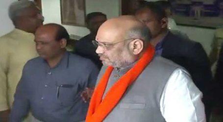 અમિત શાહ ગુજરાતની મુલાકાતે, સર્કિટ હાઉસમાં નેતાઓની એન્ટ્રી સાથે રણનીતિ ઘડાઈ