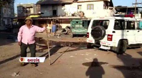 બે જૂથ વચ્ચે હિંસક અથડામણ બાદ લુખ્ખા તત્વોએ 5 ઘરને આગ લગાવી દીધી