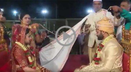 નિકોલમાં લગ્ન પ્રસંગમાં ગઠીયો સાત લાખના દાગીનાની બેગ લઈ ગયો, CCTVમાં ભાગતો ઝડપાયો