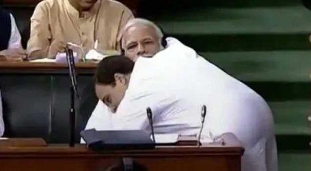 Viral : રાહુલ-મોદીનો આ Video  ચહેરા પર સ્મિત લાવી દેશે,કોંગ્રેસે ખાસ અંદાજમાં સેલિબ્રેટ કર્યો Hug Day