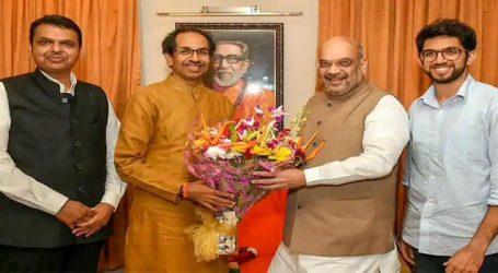 મહારાષ્ટ્રમાં BJP-શિવસેના સાથે મળીને લડશે ચૂંટણી, અમિત શાહ-ઉદ્ધવ ઠાકરે વચ્ચે મુલાકાત