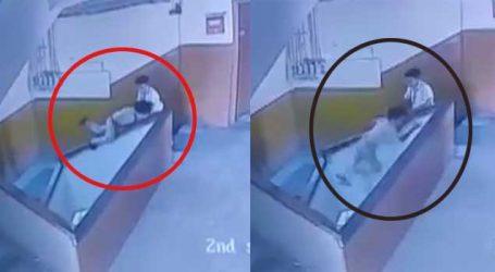 સુરતઃ આ VIDEO જુઓ જ્યારે શાળામાં બાળકની કોઈ કાળજી નથી લેતું તો શું થાય છે