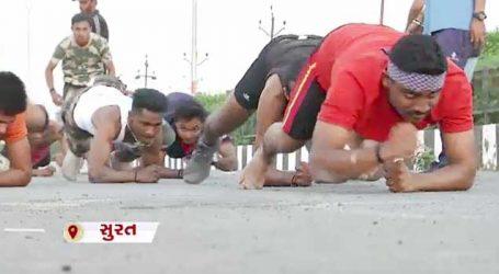 VIDEO: સુરતીલાલાઓએ દાંત કકડાવ્યાં, પાકને હંફાવવા આર્મીની લગોલગ તડામાર તૈયારી કરી રહ્યા છે