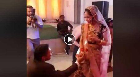 શહીદ મેજર વિભુતિના લગ્નનો VIDEO વાયરલ, પહેલા અંતિમ યાત્રામાં પત્નીની વાતોએ આખા દેશને ભાવુક કર્યો હતો