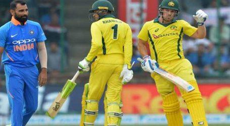 IndvAus: ઓસ્ટ્રેલિયન ટીમે ભારતીય ટીમને જીતવા 273 રનનો લક્ષ્યાંક આપ્યો