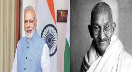 મહાત્મા ગાંધી કોંગ્રેસને સમાપ્ત કરવા માગતા હતા, આજે અમારી સરકાર એ દિશામાં છે : PM મોદી