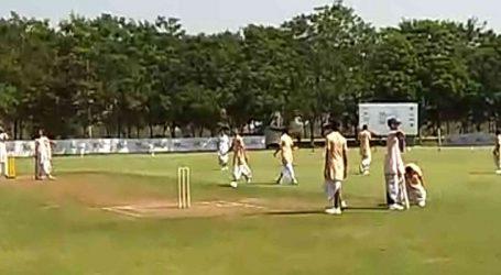 વડોદરામાં 'ત્રિકાષ્ટ દંડ-કંદુક ક્રિડા' એટલે કે ક્રિકેટનું આયોજન, સંસ્કૃતમાં કોમેન્ટ્રી અને ડ્રેસ જભ્ભો, ધોતી