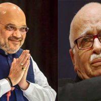 Amit Shah and l k advani