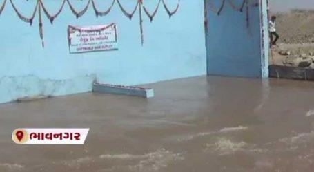 ભાવનગરની જીવાદોરી સમાન શેત્રુંજી નદીમાં સૌની યોજના હેઠળ નર્મદાના નવા નીરની આવક